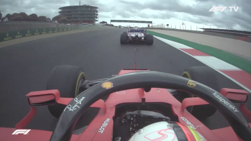 Analisi on board Vettel-GP Portogallo 2020