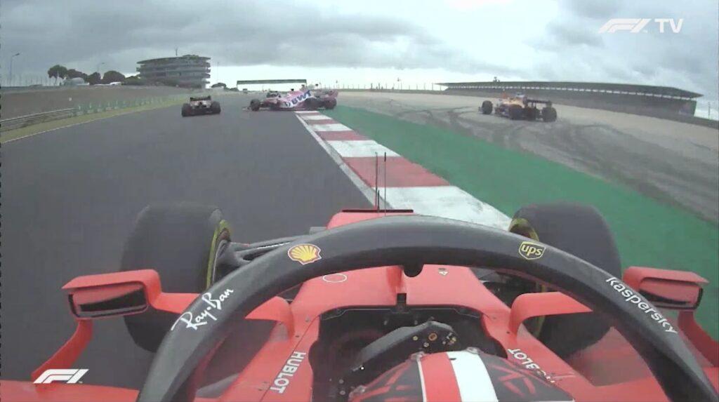 Analisi on board Leclerc-GP Portogallo 2020