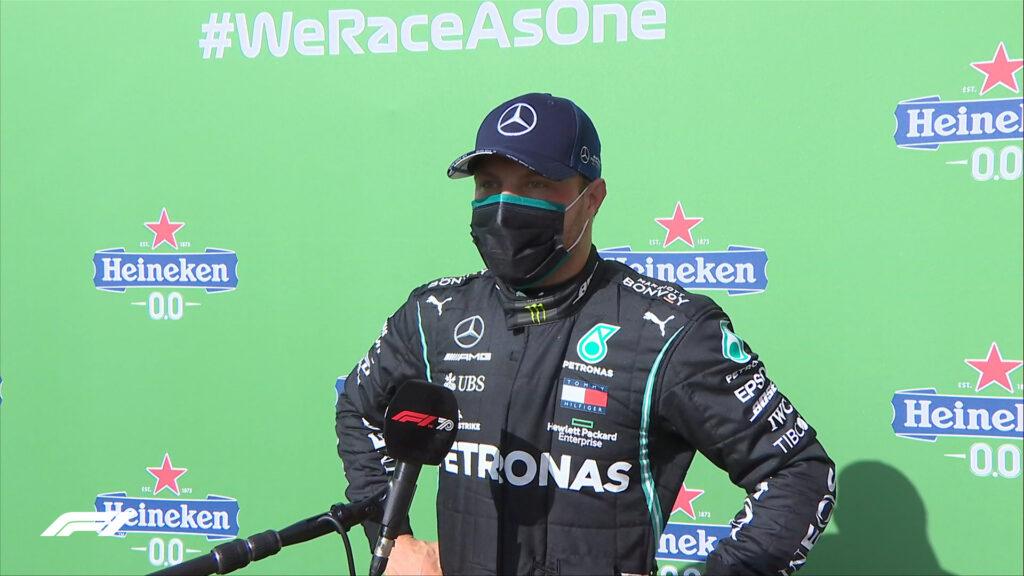 Mercedes propone ai piloti una doppia soluzione, Bottas sbaglia scelta...