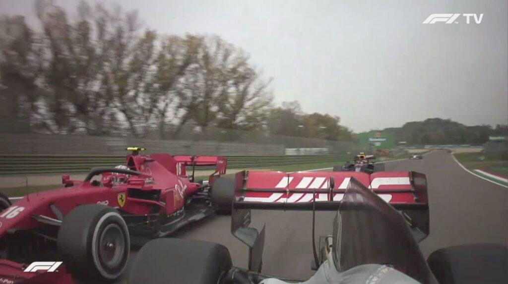 Analisi on board Leclerc-Gp