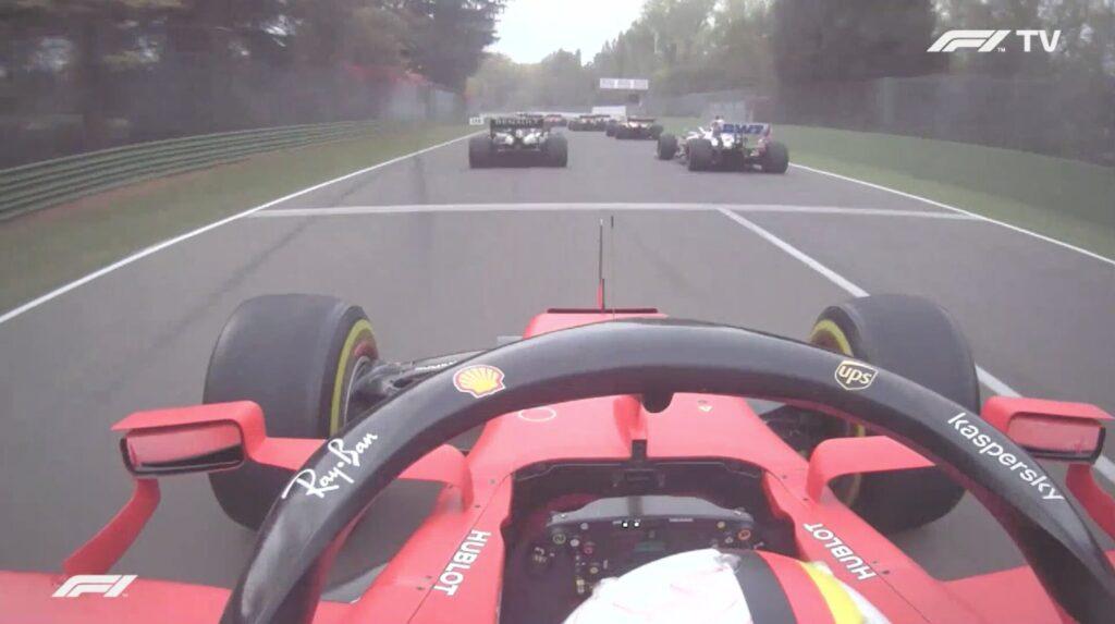 Analisi on board Vettel-Gp Emilia Romagna 2020