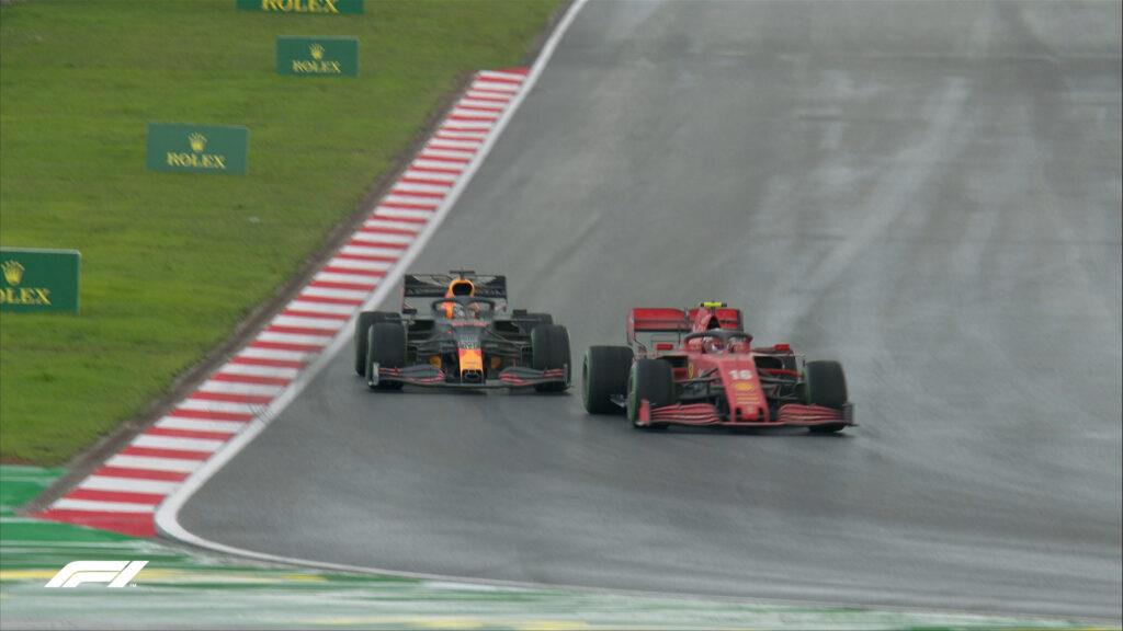 L'errore finale rovina la domenica a Leclerc...