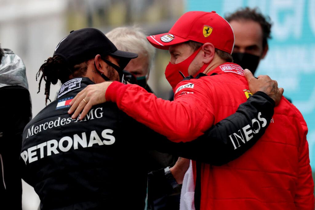 """Vettel: """"Sarei pronto a prendere il posto di Lewis"""""""