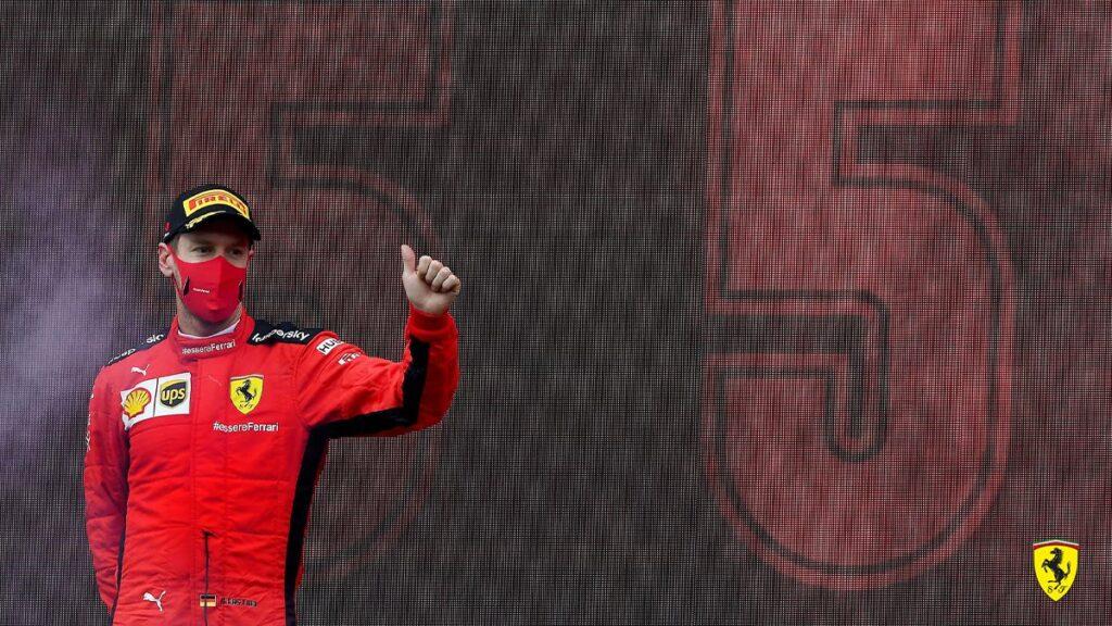 Vettel: con il team rapporti difficili...