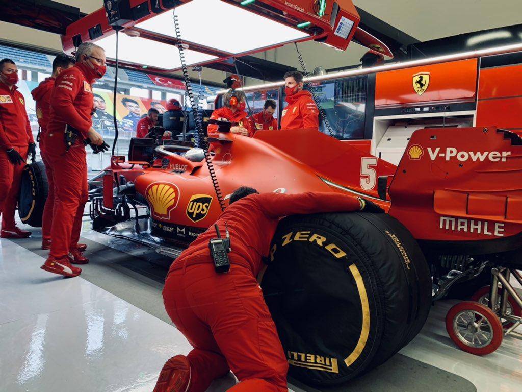 """Vettel: """"Con 4-5 gradi in più sarebbe stato diverso..."""""""