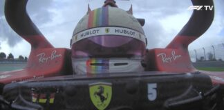 Analisi on board Vettel-Gp Turchia 2020