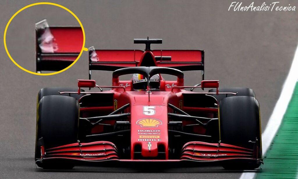 Tecnica F1: perché Vettel senza endplate anteriore non ha perso bilanciamento aerodinamico?