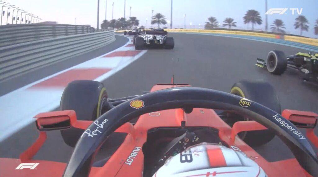 Analisi on board Leclerc-Gp Abu Dhabi 2020