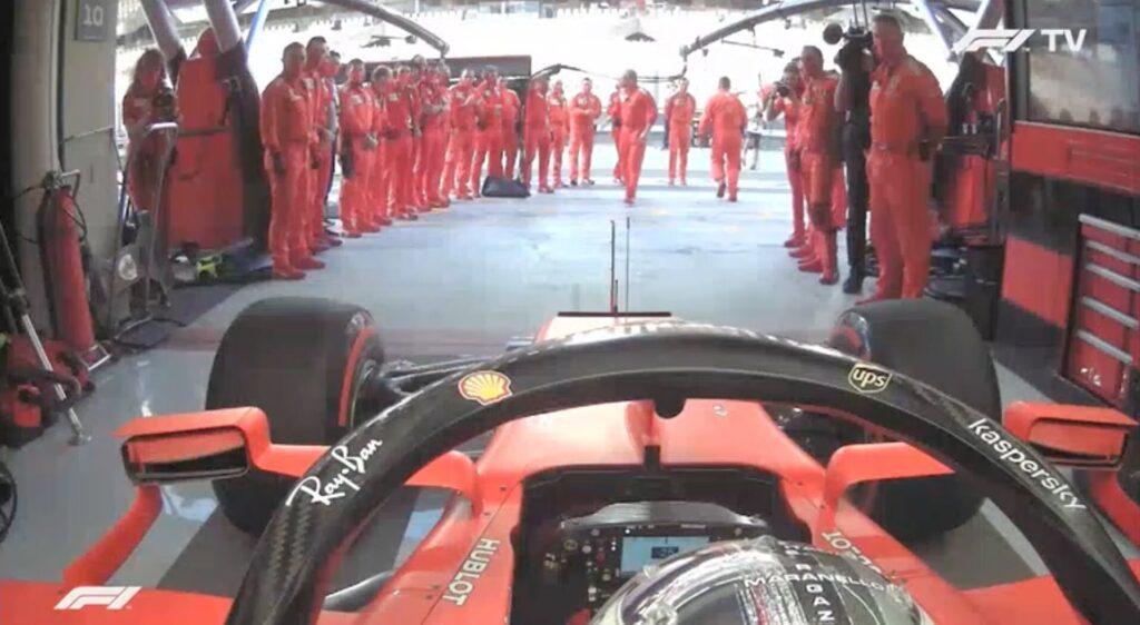 Analisi on board Vettel-Gp AbuDhabi 2020