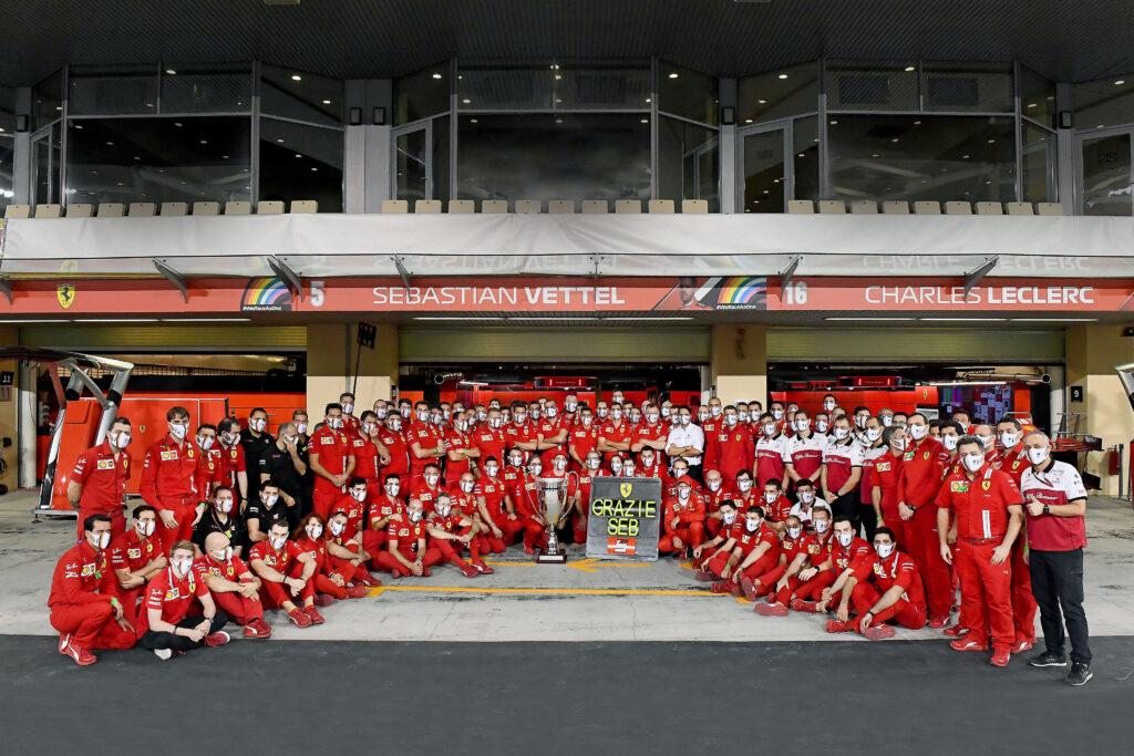 """Vettel: """"Chiudere 14° e ricevere un trofeo è stato abbastanza strano..."""""""