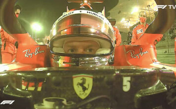 Analisi on board Vettel-GP Sakhir