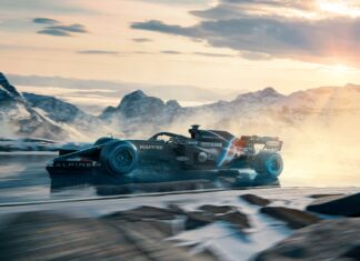 Rendering Alpine F1 2021