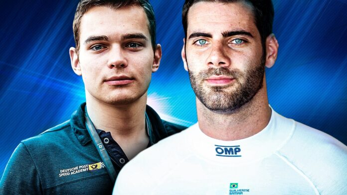 David Beckmann, Guilherme Samaia - Charouz F2 2021