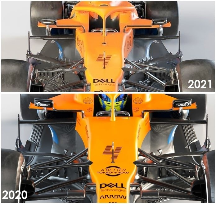 Analisi Tecnica McLaren MCL35M