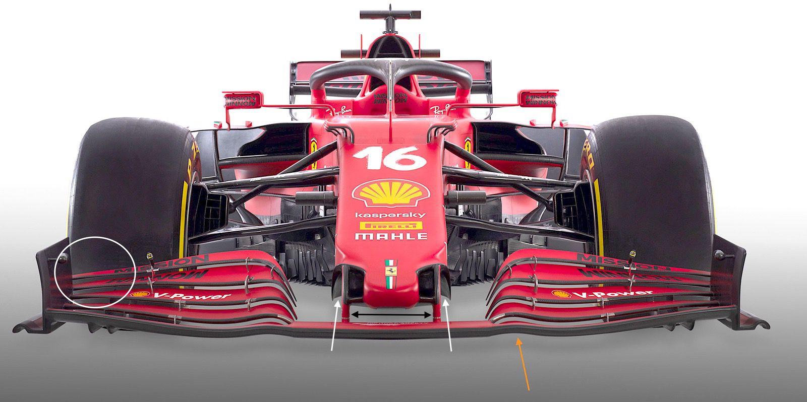 Analisi Ferrari SF21