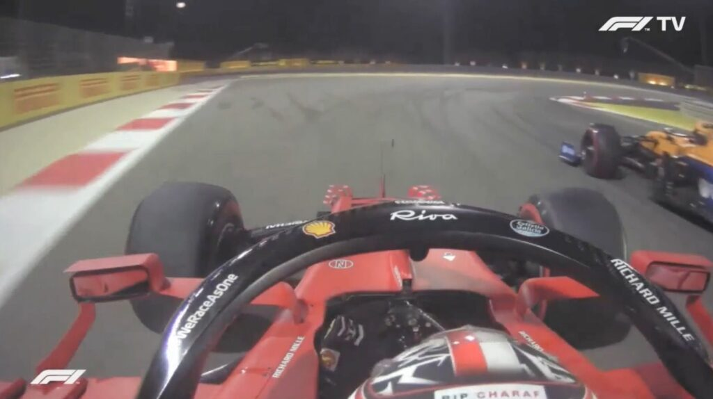 Leclerc on board analysis