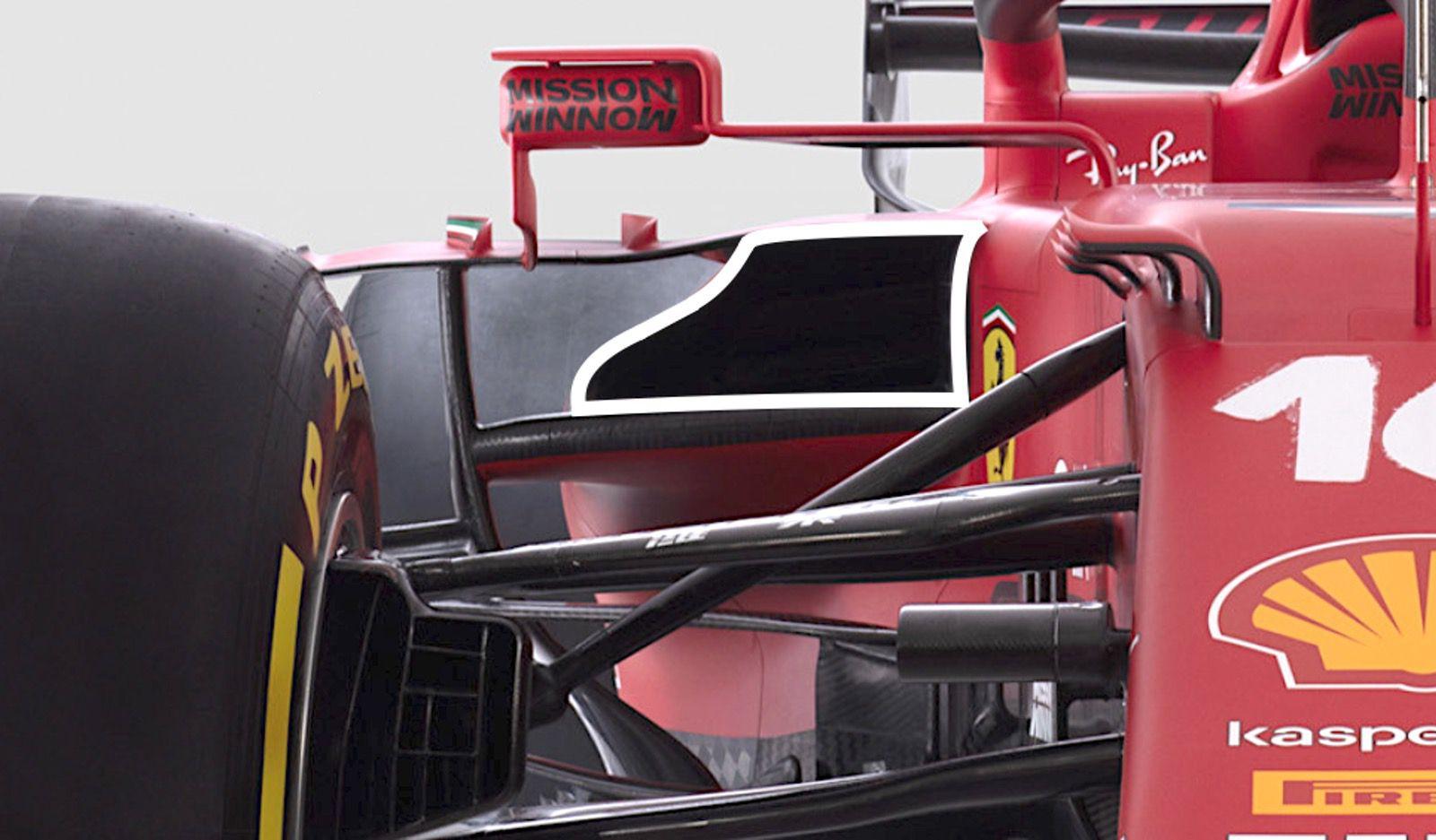 Analisi Ferrari SF2