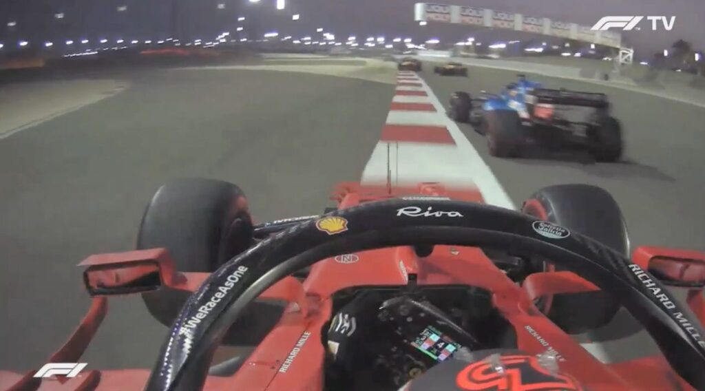 Analisi on board Sainz – Bahrain 2021