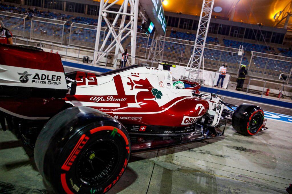 Antonio Giovinazzi (Alfa Romeo)   GP Bahrain 2020 vs 2021 - Il confronto dei tempi in qualifica