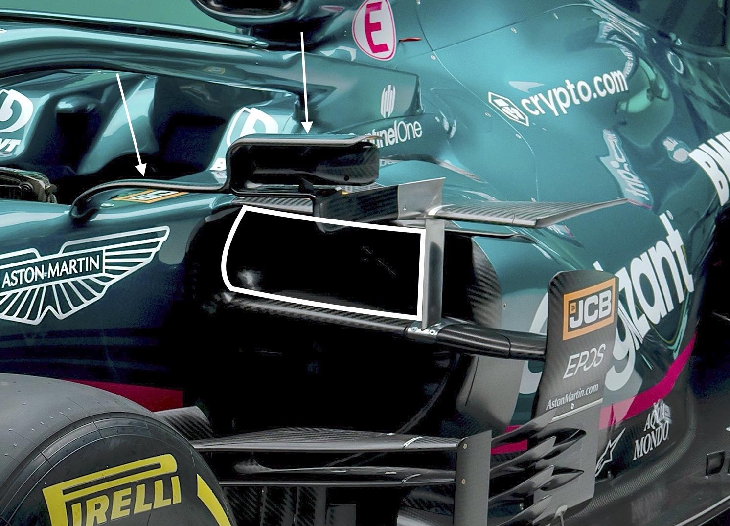 Analisi Aston Martin AMR21