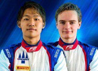 Marino Sato e Bent Viscaal (Trident) Formula 2 2021