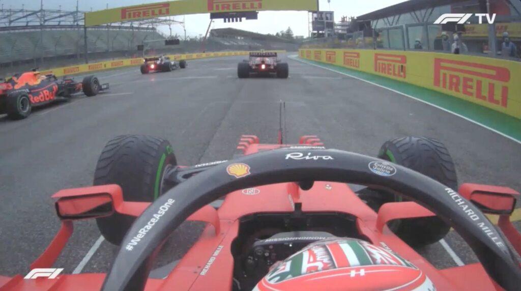 Analisi on board Leclerc - Gp Imola 2021