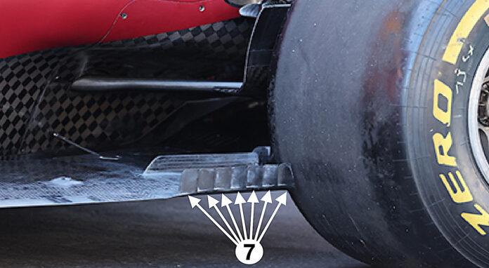 Ferrari modifica il fondo scalinato
