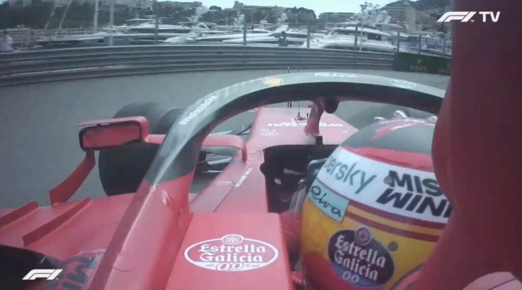 Analisi on board Sainz - GP Monaco 2021
