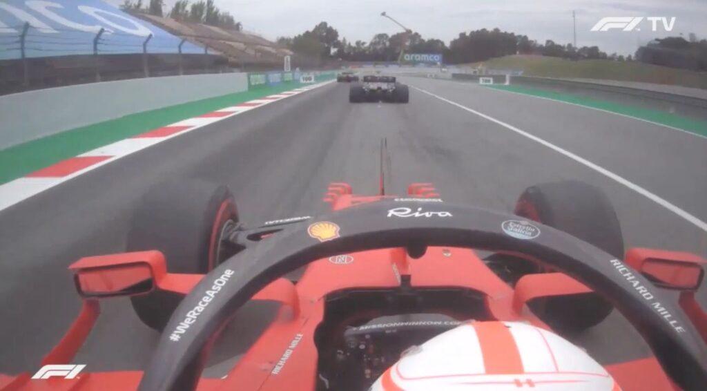 Analisi On board Leclerc - Gp Spagna 2021