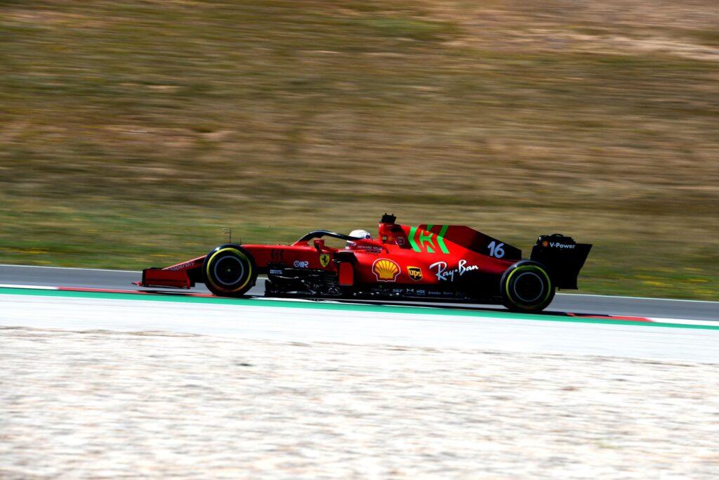 Charles Leclerc (Ferrari) | GP Portogallo 2021 - Analisi comparativa
