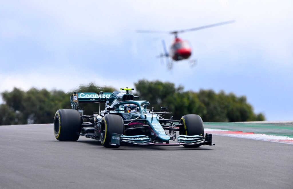 Sebastian Vettel (Aston Martin-Mercedes)   GP Portogallo 2021 - Analisi statistica