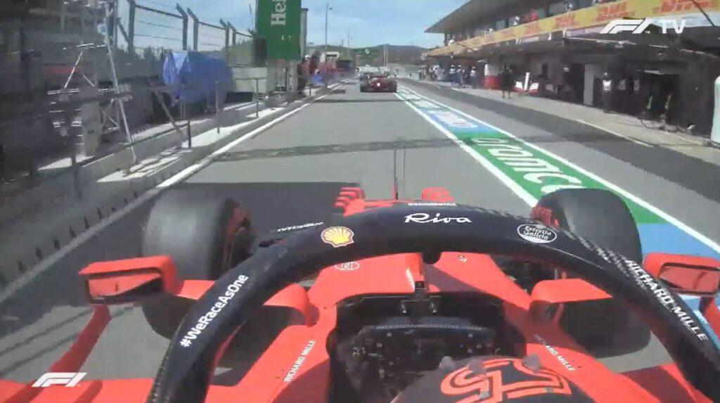Analisi on board Sainz GP Portogallo 2021