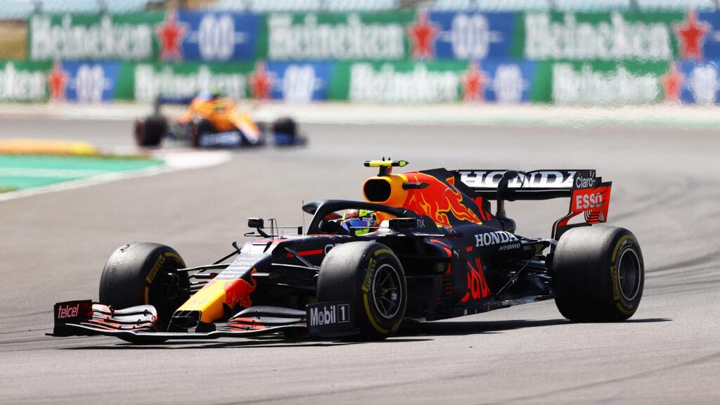 Sergio Perez (Red Bull - Honda)   GP Portogallo 2021 - Analisi statistica