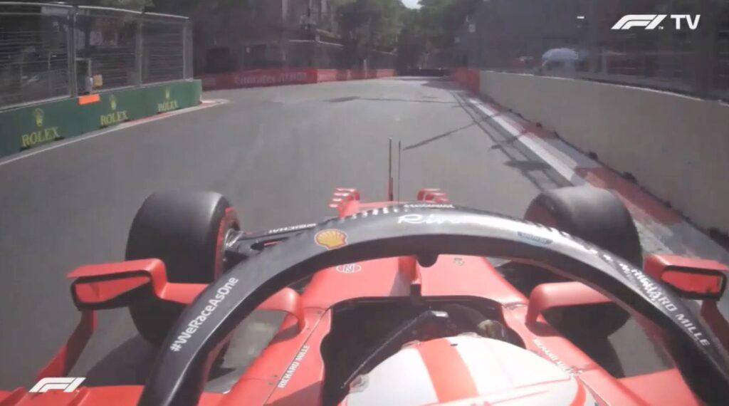 Analisi on board Leclerc - GP Azerbaijan 2021