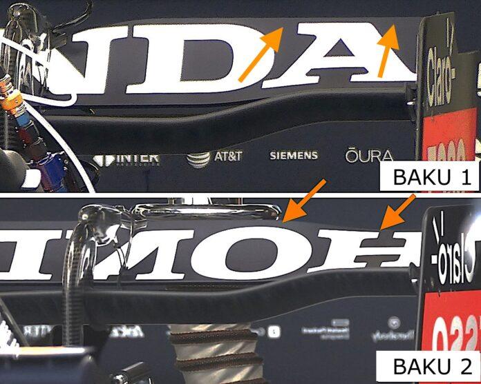 GP Azerbaijan 2021: Red Bull differenzia il carico al posteriore