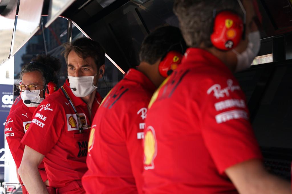 Baku specchio della stagione Ferrari