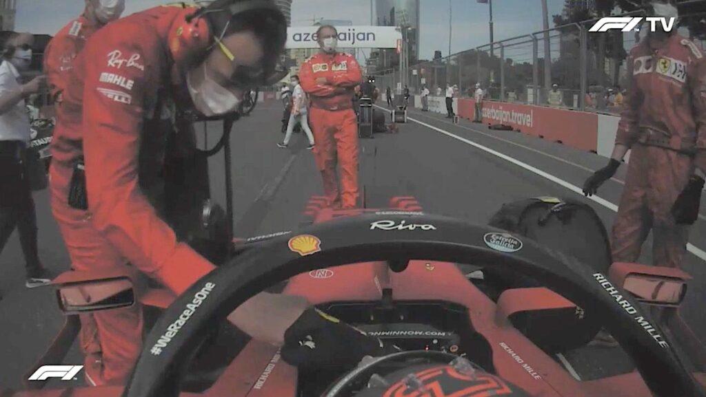 Analisi on board Sainz - GP Azerbaijan 2021