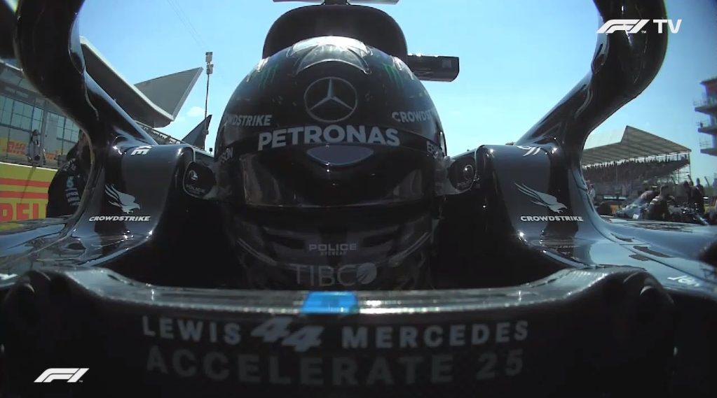 F1 - Analisi on board Hamilton - GP Inghilterra 2021: più forte della penalità